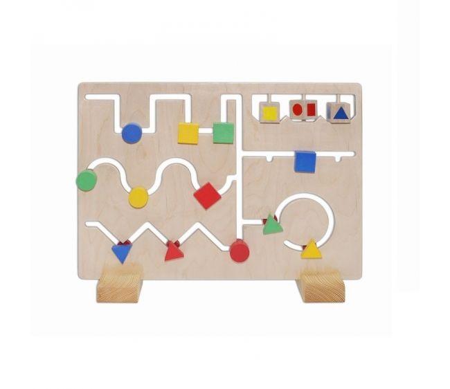 Развивающая игра - Деревянный лабиринтЛабиринты<br>Развивающая игра - Деревянный лабиринт<br>