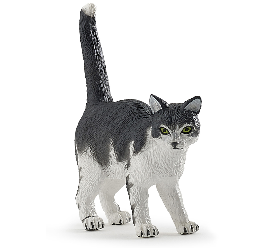 Фигурка - Черно-белый котНа ферме (Farm life)<br>Фигурка - Черно-белый кот<br>