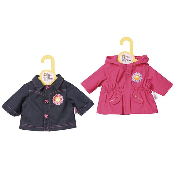 Курточки для куклы Baby Born, 2 видаОдежда Baby Born <br>Курточки для куклы Baby Born, 2 вида<br>
