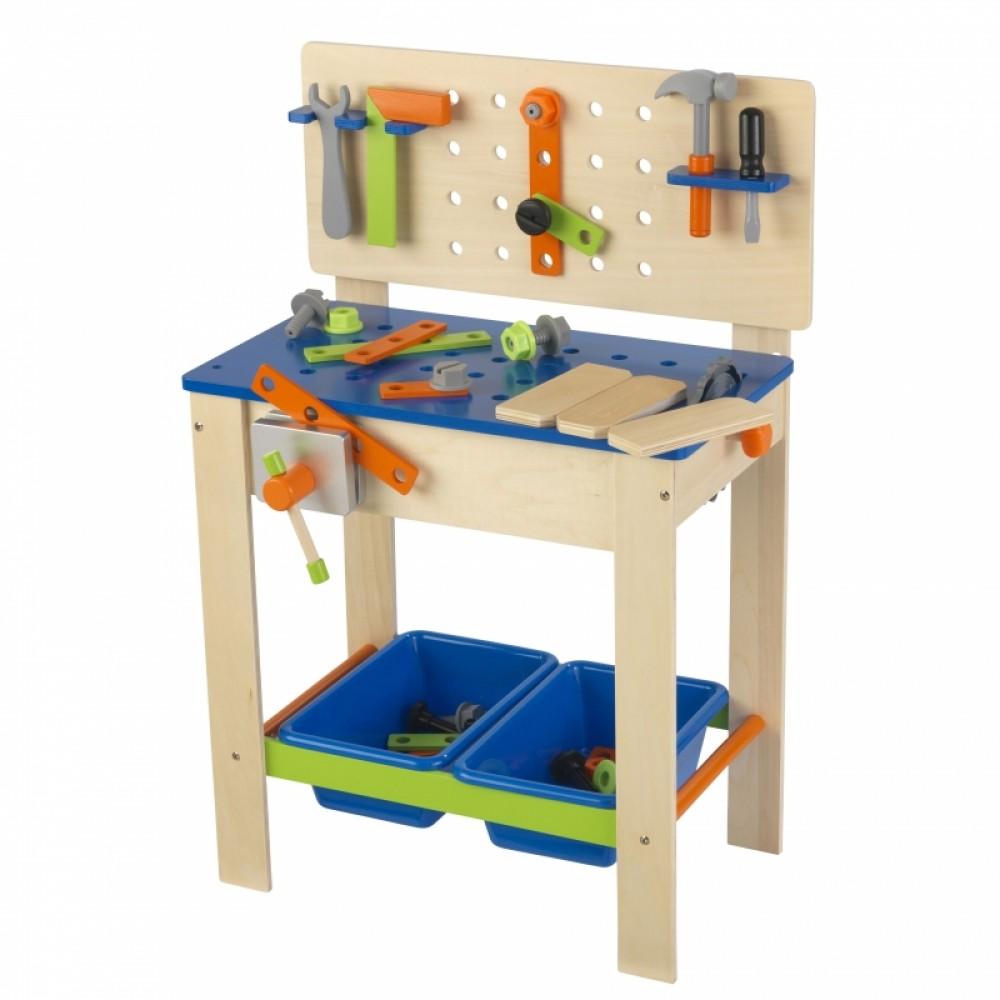 Игровой набор - Верстак с инструментамиДетские мастерские, инструменты<br>Игровой набор - Верстак с инструментами<br>