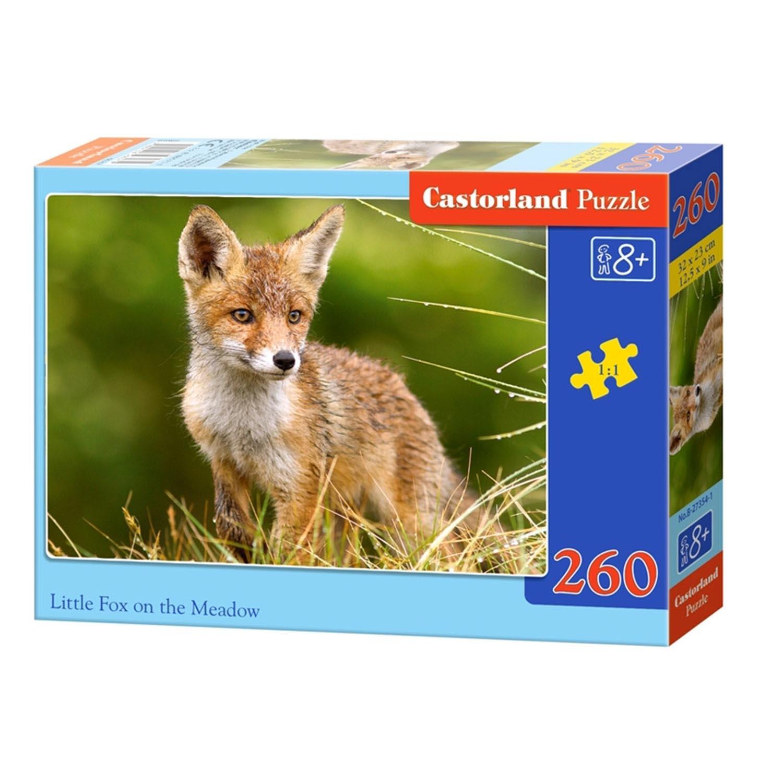 Купить со скидкой Пазлы Castorland - Лисичка на поляне, 260 элементов
