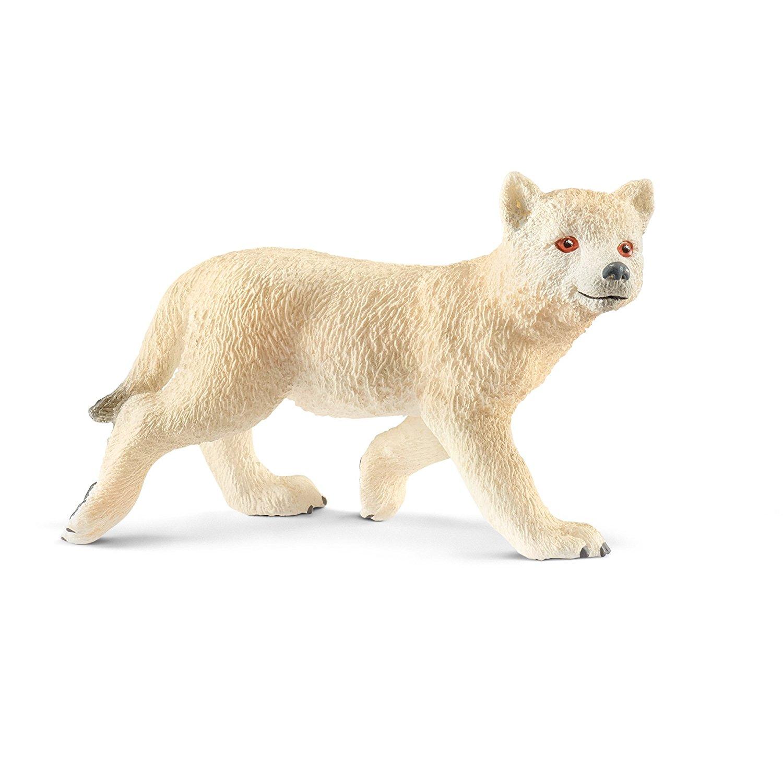 Фигурка – Детеныш Мелвильского островного волка, 5,4 смДикая природа (Wildlife)<br>Фигурка – Детеныш Мелвильского островного волка, 5,4 см<br>