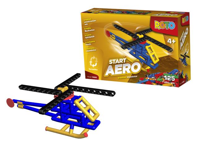 Купить Конструктор из серии Рото – Вертолет, 125 деталей, Efko
