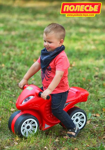 Каталка-мотоцикл «Фантом»Машинки-каталки для детей<br>Каталка-мотоцикл «Фантом»<br>