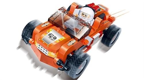 Детский конструктор - Buggy с человечкомКонструкторы BANBAO<br>Детский конструктор - Buggy с человечком<br>
