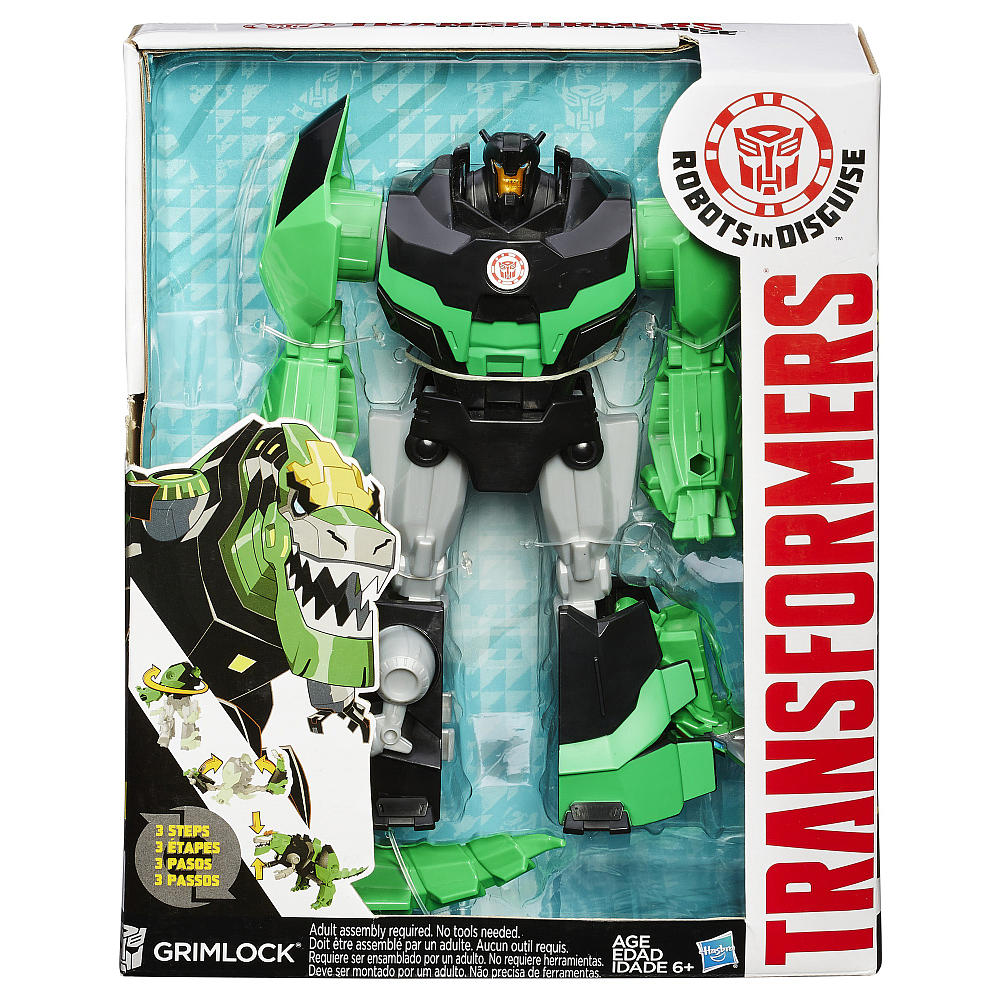 "Трансформер Гримлок ""Robots In Disguise"". Grimlock Серия  Changers"