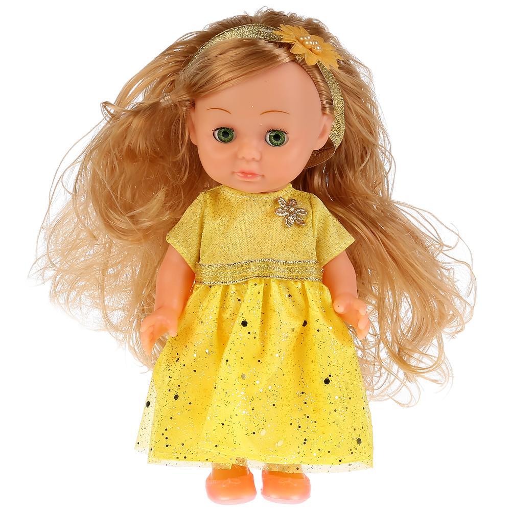 Кукла Елена без звука, закрывает глазки, с аксессуарами, 20 см фото