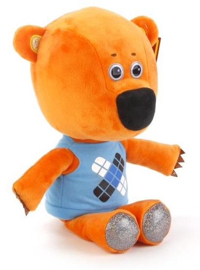 Мягкая игрушка – Медвежонок Кешка, озвученный, русский чип, 30 см.Говорящие игрушки<br>Мягкая игрушка – Медвежонок Кешка, озвученный, русский чип, 30 см.<br>