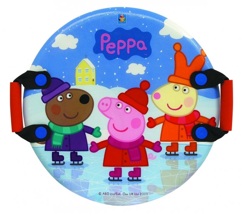 Купить Ледянка круглая с плотными ручками из серии Peppa Pig, 54 см., 1TOY