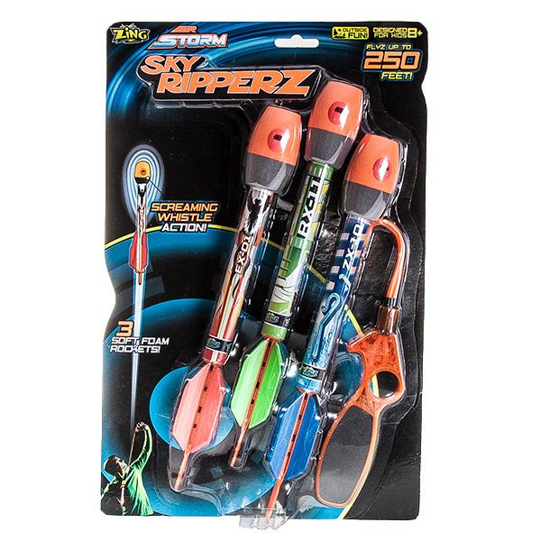 Свистящие ракеты с пусковым устройством - Арбалеты и Дартс, артикул: 136817