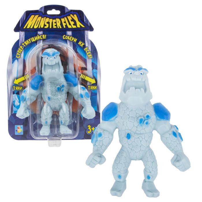 Купить Тянущаяся фигурка Monster Flex - Человек-айсберг, 15 см, 1TOY