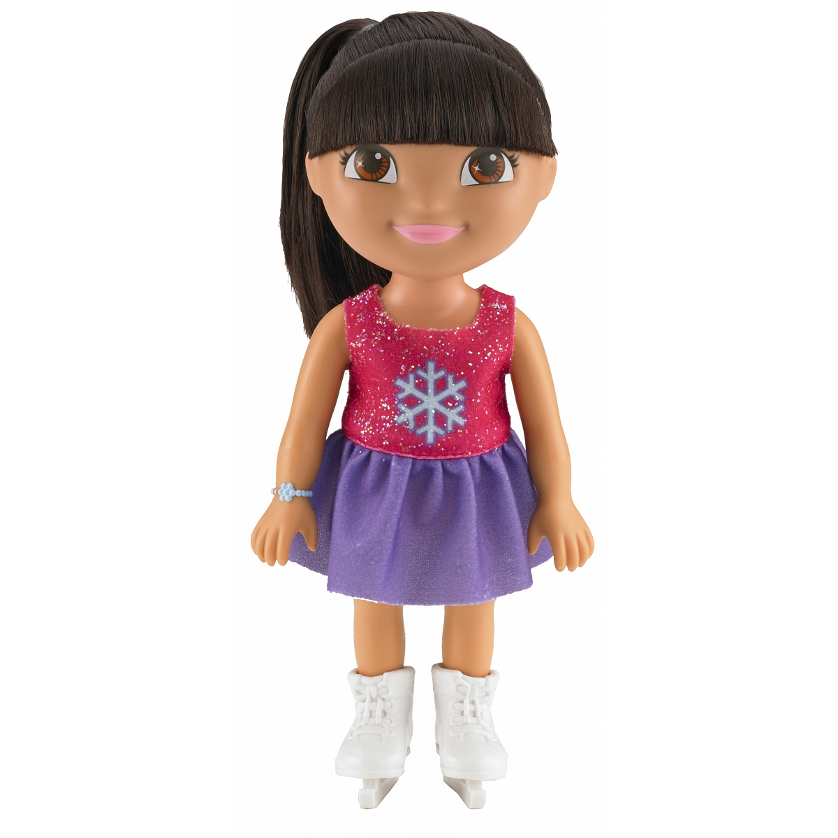 Кукла из серии Даша-путешественница - Даша на каткеКуклы и пупсы<br>Кукла из серии Даша-путешественница - Даша на катке<br>