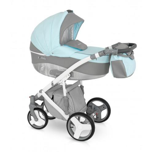 Детская коляска Camarelo Pireus 2 в 1, цвет - PR_2Детские коляски 2 в 1<br>Детская коляска Camarelo Pireus 2 в 1, цвет - PR_2<br>