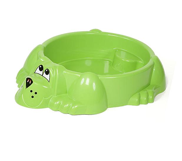 Детская пластиковая песочница мини-бассейн  Собачка - Детские песочницы, артикул: 161050