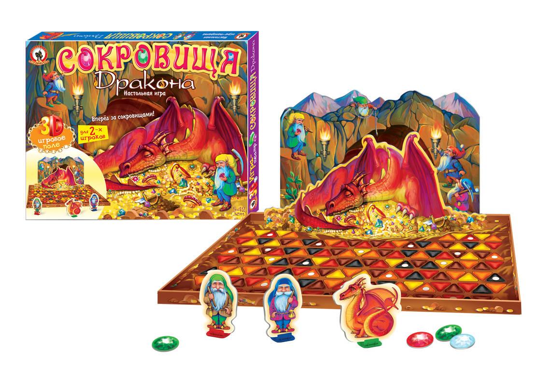 Игра-театр - Сокровища драконаРазвивающие<br>Игра-театр - Сокровища дракона<br>