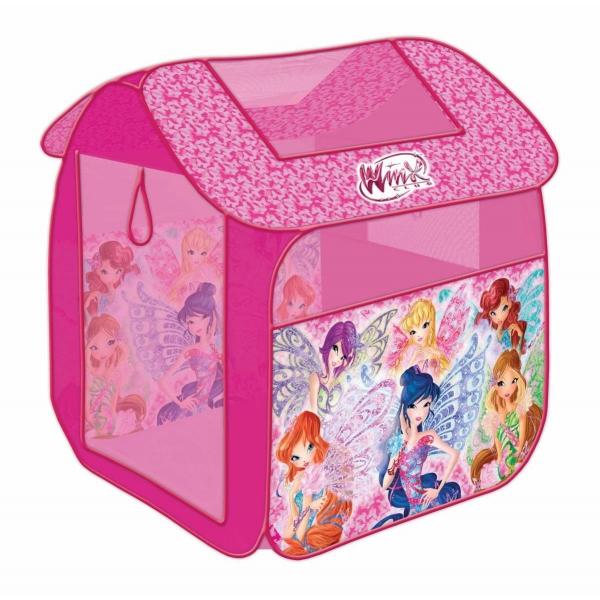 Купить Палатка детская игровая из серии Winx, в сумке, Играем вместе