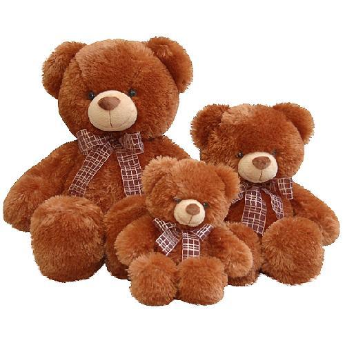 Медведь коричневый 45см - Медведи, артикул: 24859