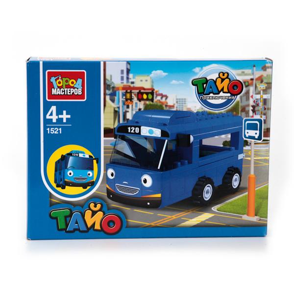 Конструктор - Автобус ТайоГород мастеров<br>Конструктор - Автобус Тайо<br>