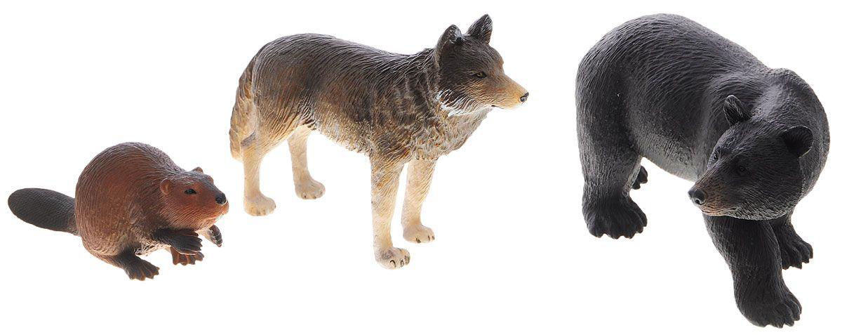 Набор Animal Planet - Лесные животные, малыйЛесная жизнь (Woodland)<br>Набор Animal Planet - Лесные животные, малый<br>