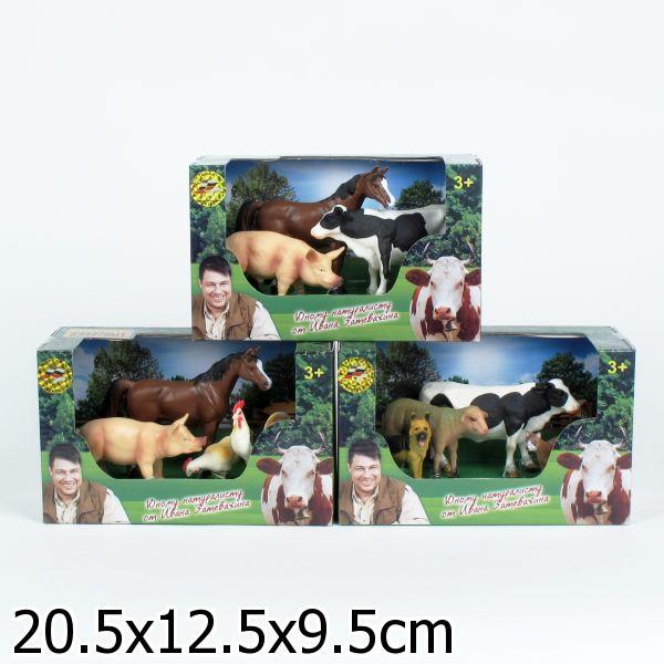 Набор фигурок «Домашние животные»На ферме (Farm life)<br>Набор фигурок «Домашние животные»<br>