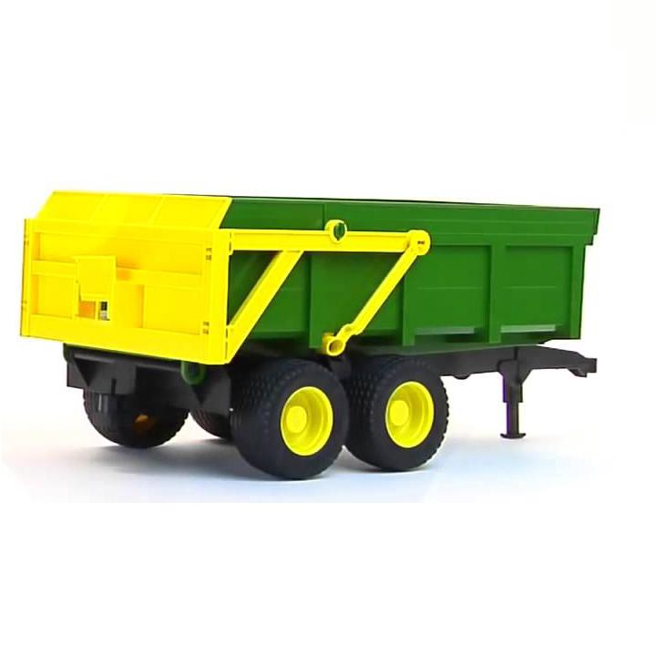 Прицеп Bruder с возможностью разгрузкиИгрушечные тракторы<br>Прицеп Bruder с возможностью разгрузки<br>