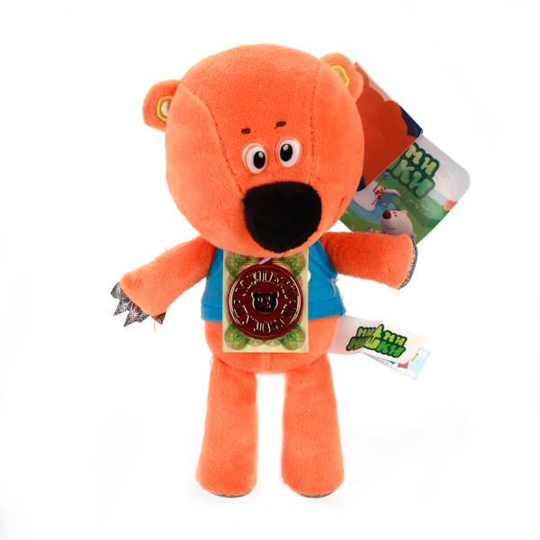 Озвученная мягкая игрушка - Медвежонок Кешка, 20 смГоворящие игрушки<br>Озвученная мягкая игрушка - Медвежонок Кешка, 20 см<br>