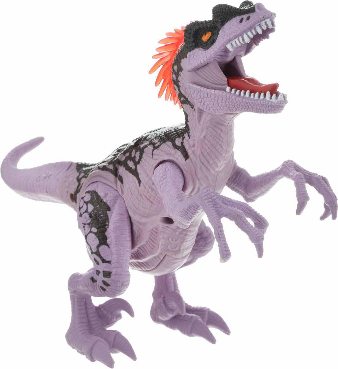 Подвижная фигура – Мегараптор, свет и звукЖизнь динозавров (Prehistoric)<br>Подвижная фигура – Мегараптор, свет и звук<br>