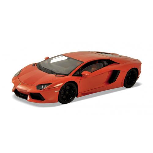 Игрушечная модель машины Lamborghini Aventador LP700-4 масштаб 1:87