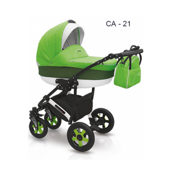 Детская коляска Camarelo Carera 2 в 1, цвет CA_21Детские коляски 2 в 1<br>Детская коляска Camarelo Carera 2 в 1, цвет CA_21<br>