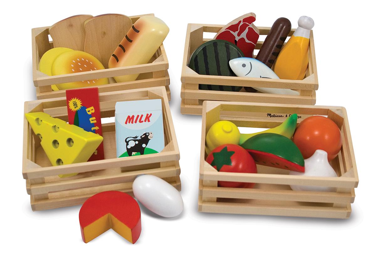 Набор продуктов - Готовь и играйАксессуары и техника для детской кухни<br>Набор продуктов - Готовь и играй<br>