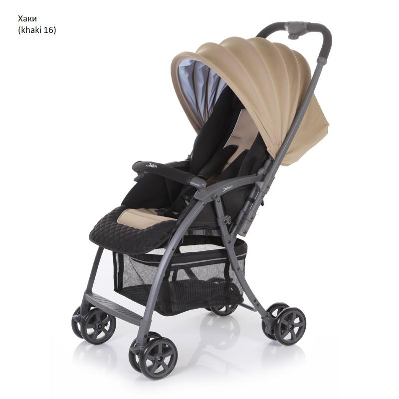 Детская прогулочная коляска – Uno, хаки 16Детские прогулочные коляски<br>Детская прогулочная коляска – Uno, хаки 16<br>