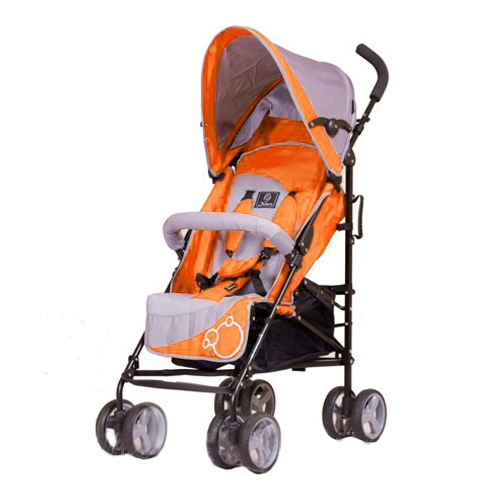Коляска трость Picnic S-102, OrangeДетские коляски Capella Jetem, Baby Care<br>Коляска трость Picnic S-102, Orange<br>