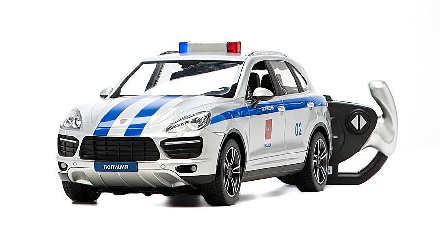 Радиоуправляемая полицейская машина Porsche Cayenne со световыми и звуковыми эффектамиМашины на р/у<br>Радиоуправляемая полицейская машина Porsche Cayenne со световыми и звуковыми эффектами<br>