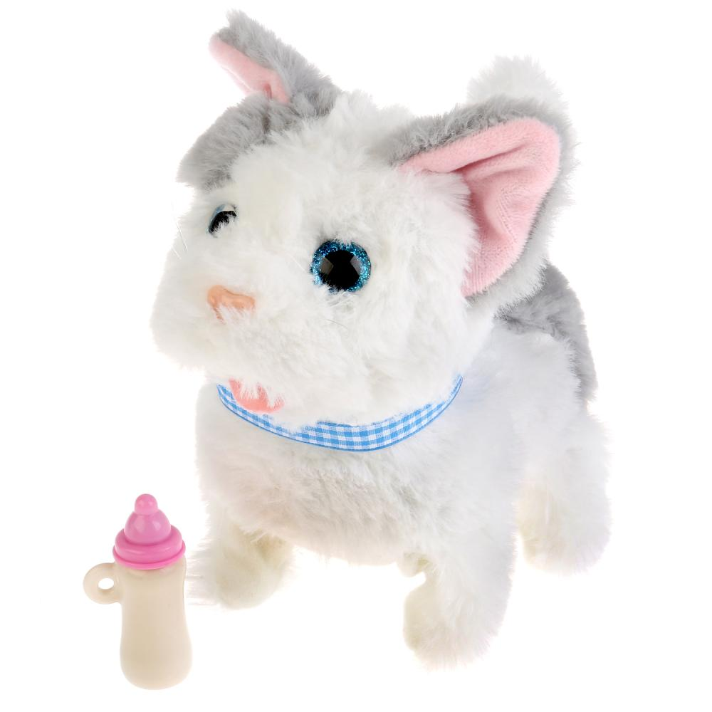 Интерактивный котенок Джесси с бутылочкой, 7 функций, My Friends  - купить со скидкой