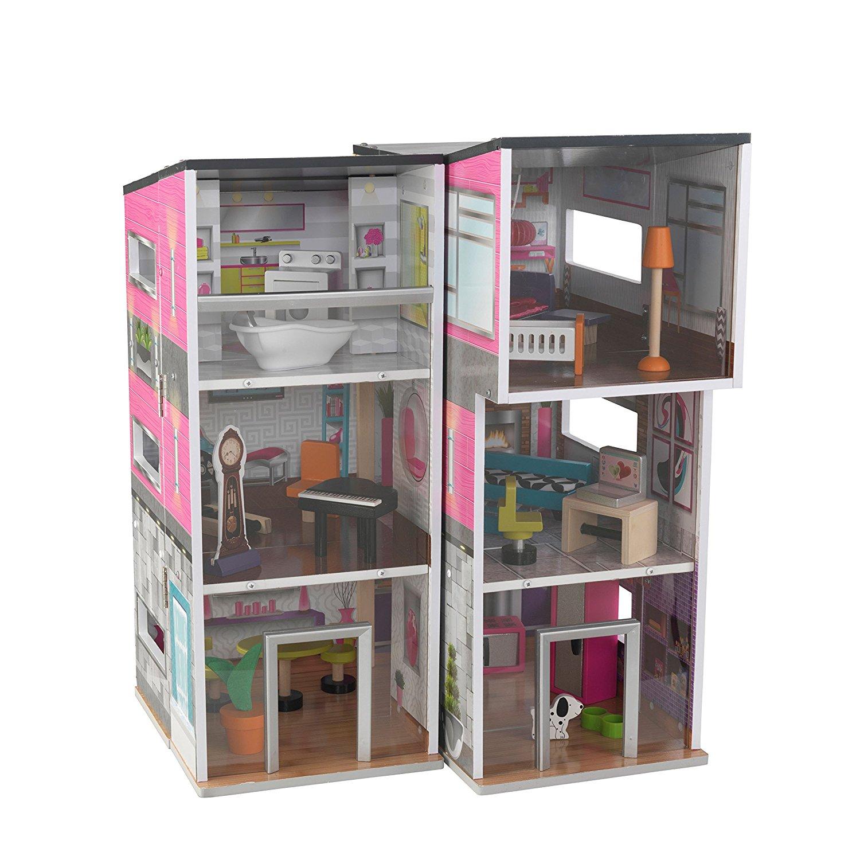 Кукольный домик - Современный Таунхаус делюксКукольные домики<br>Кукольный домик - Современный Таунхаус делюкс<br>