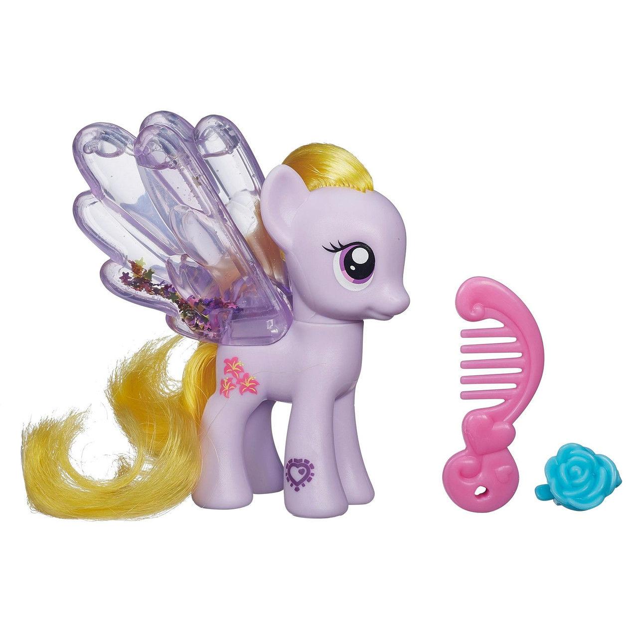 Пони с блестками - Лили Блоссом из серии Моя маленькая пониМоя маленькая пони (My Little Pony)<br>Пони с блестками - Лили Блоссом из серии Моя маленькая пони<br>