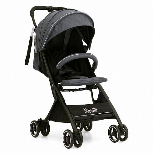 Купить Прогулочная коляска Nuovita Vero, цвет темно-серый