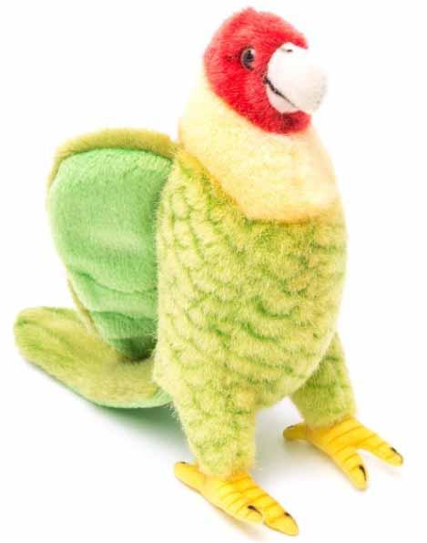Мягкая игрушка – Каролинский попугай, 17 смДикие животные<br>Мягкая игрушка – Каролинский попугай, 17 см<br>