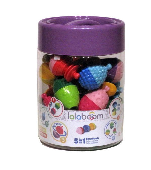 Игрушка развивающая Lalaboom, 48 предметов