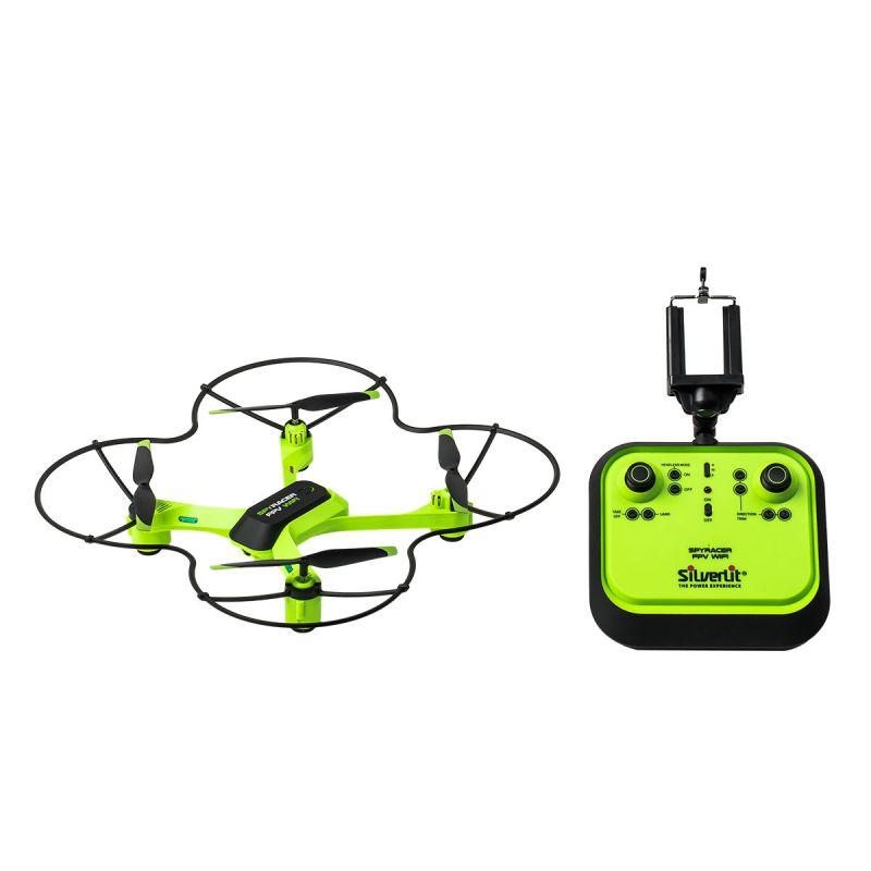 Квадрокоптер - Спай Рэйсер, WiFiЛетающие игрушки<br>Квадрокоптер - Спай Рэйсер, WiFi<br>