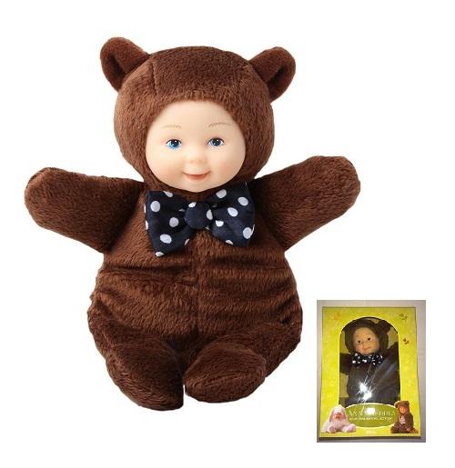 Кукла из серии «Детки-мишки», 15 смКуклы детки ANNE GEDDES<br>Кукла из серии «Детки-мишки», 15 см<br>