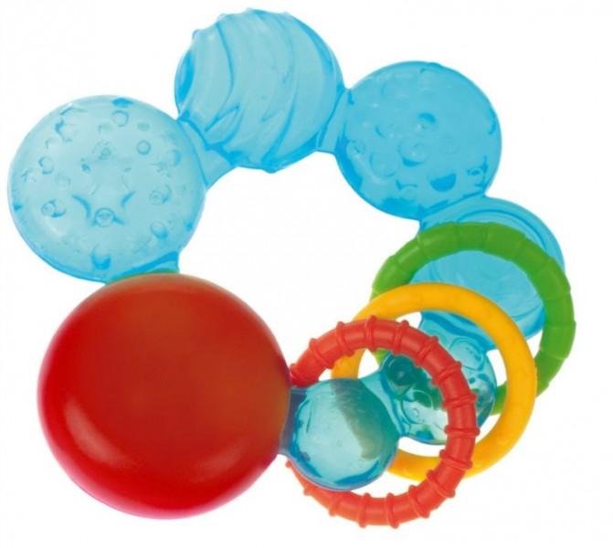 Охлаждающий прорезыватель – ПузырькиДетские погремушки и подвесные игрушки на кроватку<br>Охлаждающий прорезыватель – Пузырьки<br>