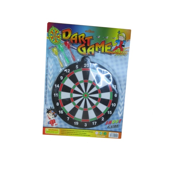 Набор для игры в Дартс - Dart Game, мишень и 3 дротика с липучкамиАрбалеты и Дартс<br>Набор для игры в Дартс - Dart Game, мишень и 3 дротика с липучками<br>