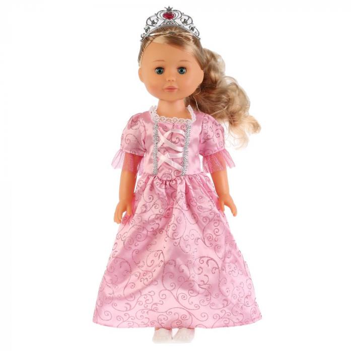 Купить Кукла озвученная – Принцесса София в розовом, 46 см., 100 фраз, Карапуз