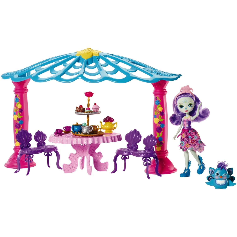 Игровой набора Enchantimals - Чаепитие Пэттер Павлины и Флэпа Mattel
