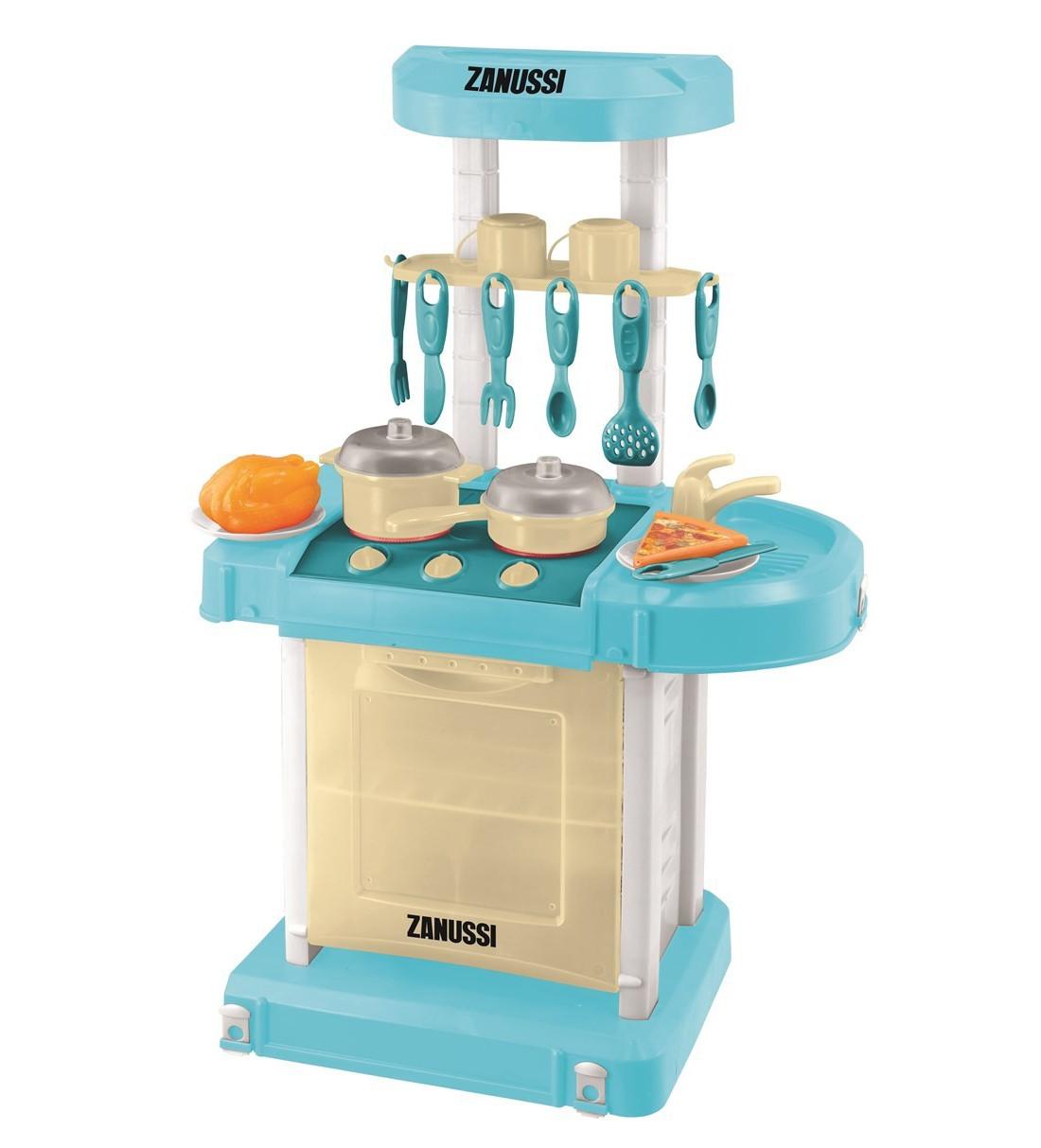 Кухня электронная мобильная ZanussiДетские игровые кухни<br>Кухня электронная мобильная Zanussi<br>