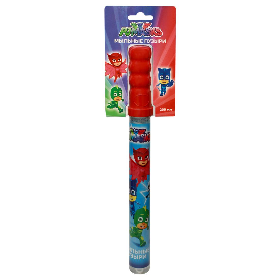 Купить Мыльные пузыри Герои в масках™ - Волшебная палочка, 200 мл, Росмэн
