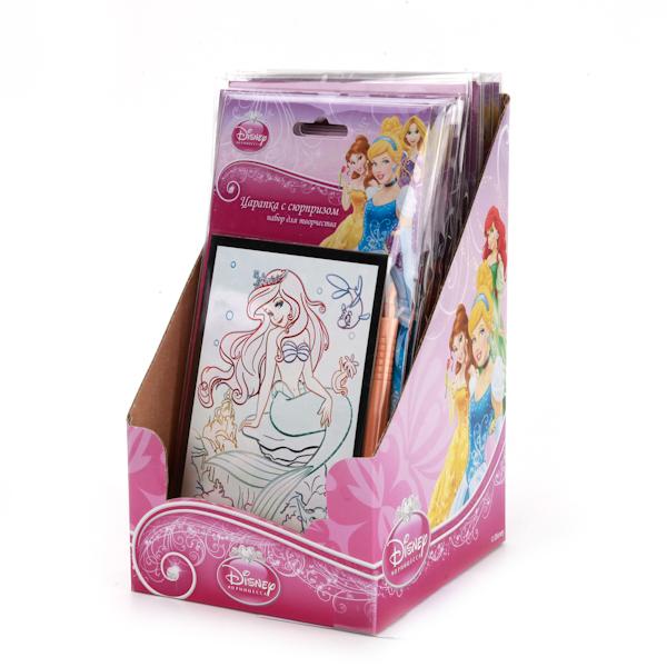 Набор для творчества - Царапки с сюрпризом Disney ПринцессыDisney<br>Набор для творчества - Царапки с сюрпризом Disney Принцессы<br>