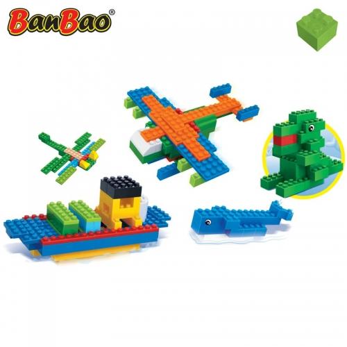 Конструктор 5 в 1: создай свою модель, 1135 деталейКонструкторы BANBAO<br>Конструктор 5 в 1: создай свою модель, 1135 деталей<br>