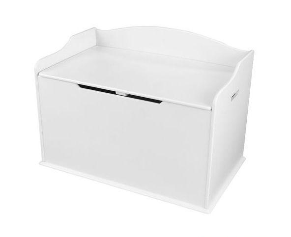 Ящик для игрушек Austin Toy Box, цвет – белый